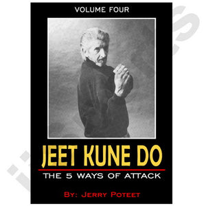 Jerry Poteet Jeet Kune Do #4 Five Ways Attack DVD Bruce Lee don chi sao