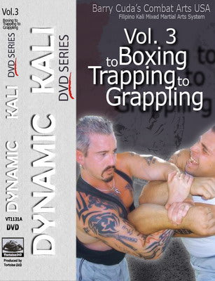 Barry Cuda Dynamic Filipino Kali 3 Boxing Trapping Grappling DVD Panantukan mma