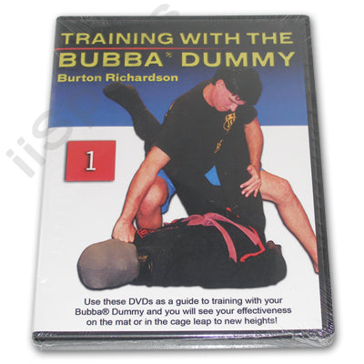 Burton Richardson MMA Brazilian Jiu Jitsu Bubba Dummy Training #1 DVD