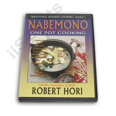 Traditional Japanese One Pot Cooking Cookbook Nabemono How To DVD yosenabe