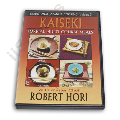 Traditional Japanese Cooking Formal Dishes Kaiseki DVD Chef Robert Hori recipes