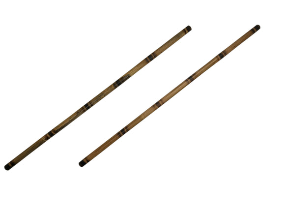 2 Filipino Martial Arts Escrima Kali Arnis Burned Rattan Speed Sticks 28