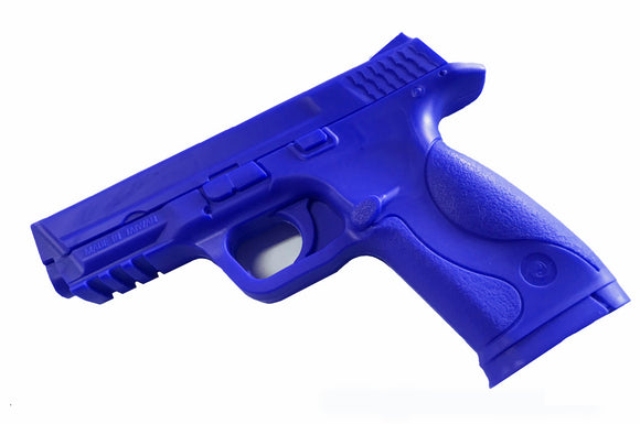 Rubber Standard M&P Training Gun Pistol BLUE