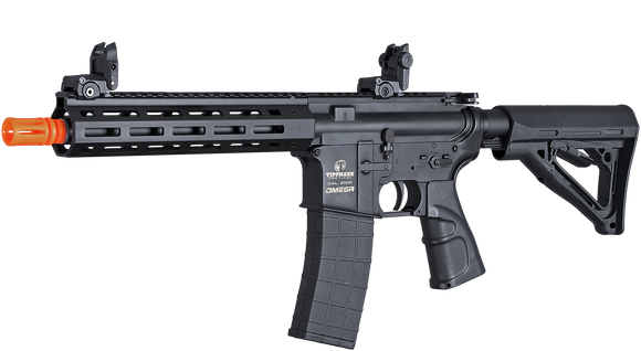 Airsoft Tippmann Omega PV M4 CQB Compact Rifle 12gram CO2 Black