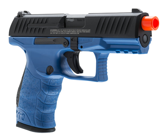 T4E Airsoft Walther PPQ LE Blue GBB Pistol