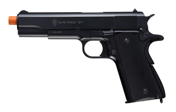 T4E Airsoft Elite Force CO2 Metal 1911A1 Black (Gen3)