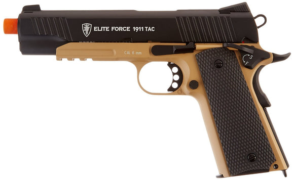 T4E Airsoft EF 1911 CO2 TAC Metal Dark Earth Brown