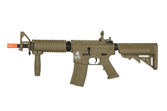 Airsoft Tan CQB Spec Ops M4 AEG Assault Rifle Gun Set + Battery & Charger