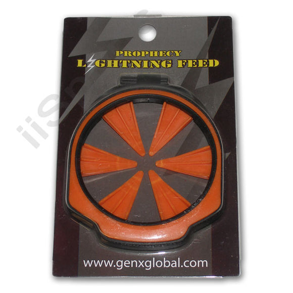 GXG Lightning Empire Prophecy Z2 Loader Hopper Speed Feed gate Collar Lid ORANGE