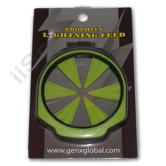 GXG Lightning Empire Prophecy Z2 Loader Hopper Speed Feed gate Collar LIME GREEN