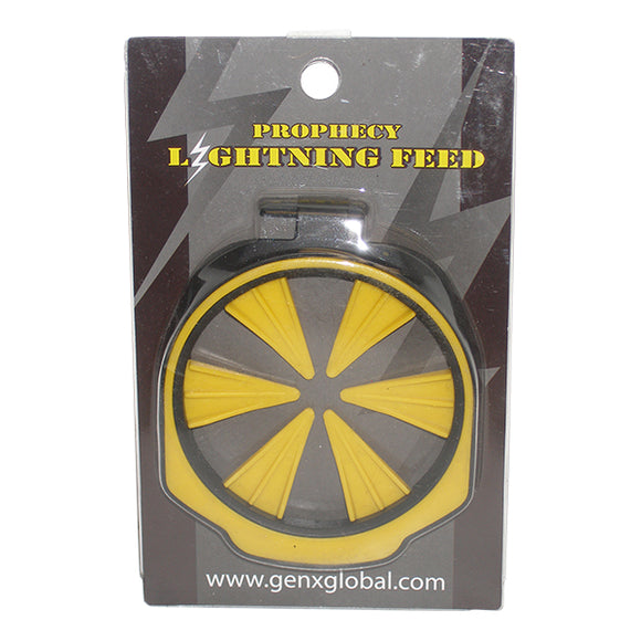 Lightning Empire Prophecy Z2 Loader Hopper Speed Quick Feed Gate Collar YELLOW