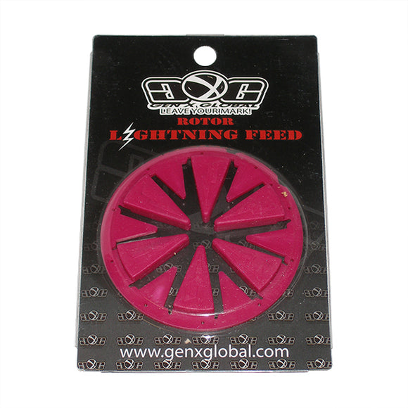 Lightning DYE Rotor 2010 12 13 Loader Hopper Speed Feed Gate Collar Lid HOT PINK