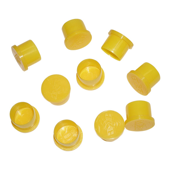 10 Paintball CO2 HPA Tank Bottle Thread Saver Protector Caps pin valve regulator