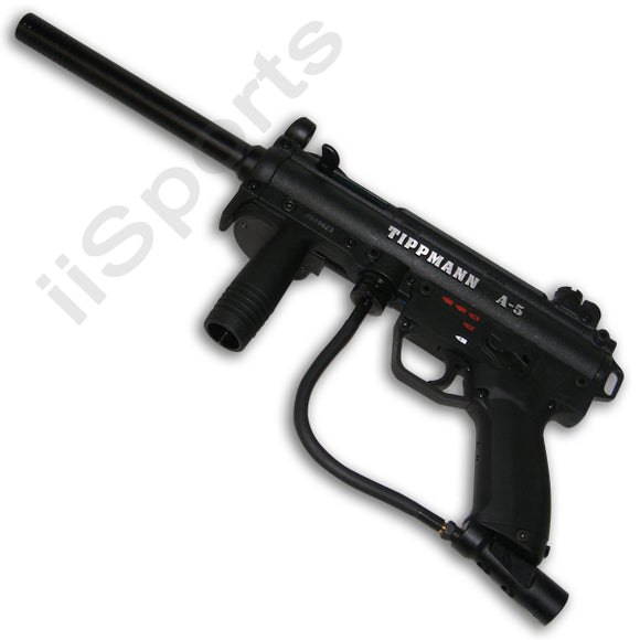 Tippmann A5 Electronic Paintball Marker Black