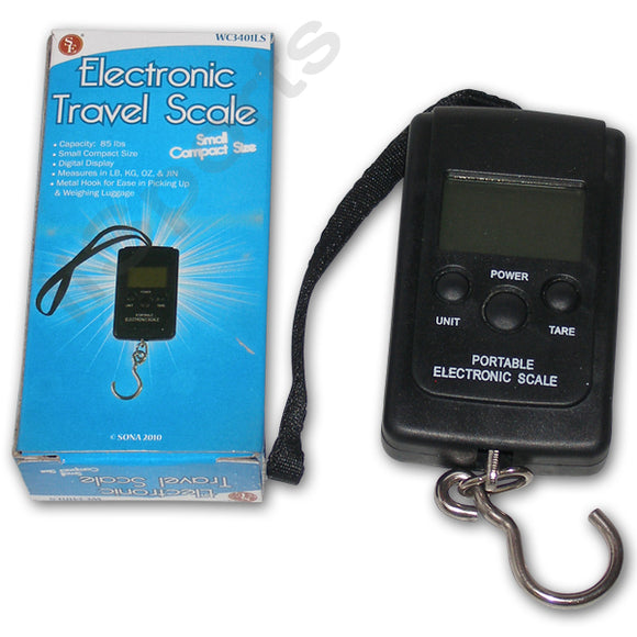 Compact Fishing Backpacking Hunting Camping Travel Luggage LCD Digital Scale