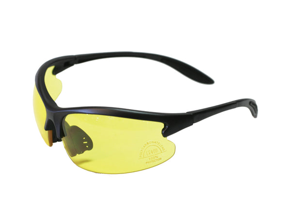 Comtemporary Styled Polycarbonate Tinted Shooting Glasses