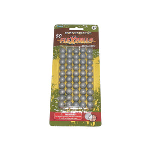 Stryk zone .50cal Gel Flexballs Paintballs 50 count