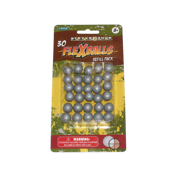Stryk zone .50cal Gel Flexballs Paintball 30 count
