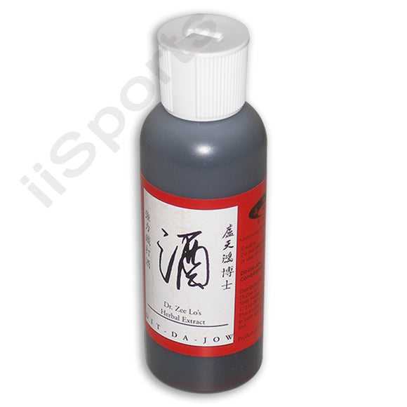 Dr Zee Lo Authentic Chinese Dit Da Jow Liniment Large 4 oz