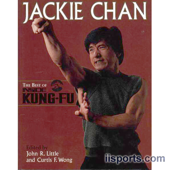 Jackie Chan From Best of Inside Kung Fu Book by John Little & Curtis Wong