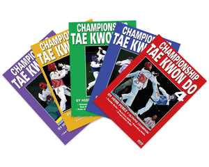 5 DVD SET Championship Tae Kwon Do Comprehensive Kicking Course - Herb Perez