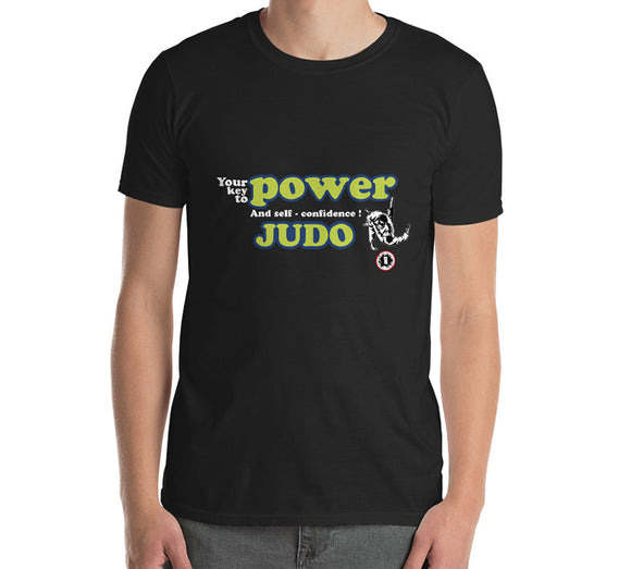 AT2300A  Judo 'Your Key to Power & Confidence' T-Shirt