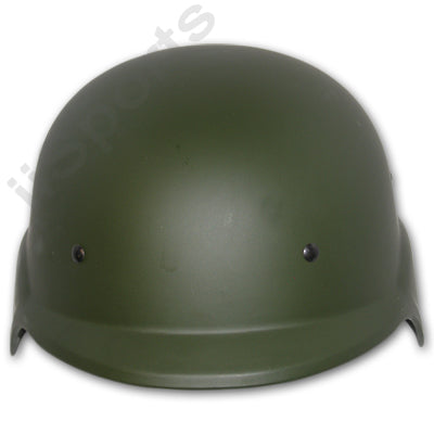 GXG Paintball Airsoft Mil Sim Tactical SWAT Army Helmet Olive OD Green