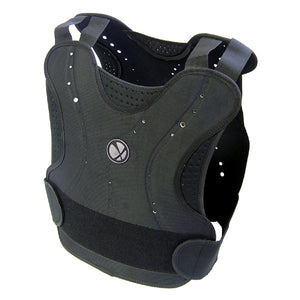 Paintball Airsoft GXG Padded Chest Protector Guard Body Armor Vest Pad Black