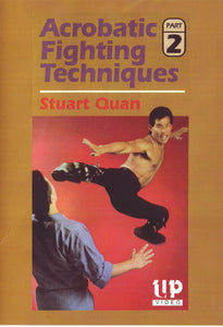 Martial Arts Acrobatic Fighting Techniques #2 DVD Stuart Quan karate tournament