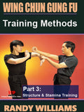 Wing Chun Gung Fu Training Methods #3 Siu Leem Tau Biu Jee DVD  Randy Williams