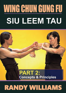 Wing Chun Gung Fu Siu Leem Tau #2 Yut Fook Yee DVD Randy Williams