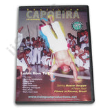 Capoeria Brazilian Native Self Defense by Master Sergipe 2 DVD Set