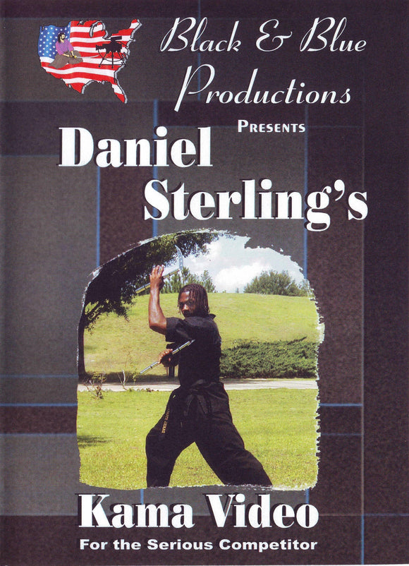 Tournament Karate Kama Forms Techniques DVD Daniel Sterling