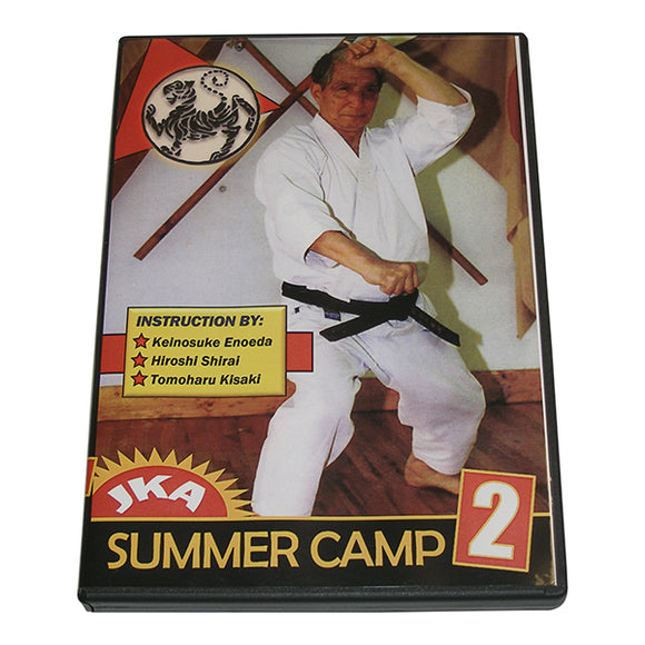 JKA Japan Karate Association Summer Camp #2 DVD Katsumata Enoeda Shirai Kisaki