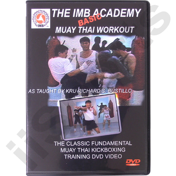 Richard Bustillo IMB Academy Muay Thai Kickboxing Boxing DVD #3 jun fan