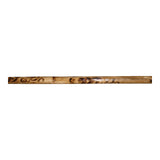 "Tribal Burn Escrima Kali Arnis Rattan Stick No Skin 28"" x 7/8"""