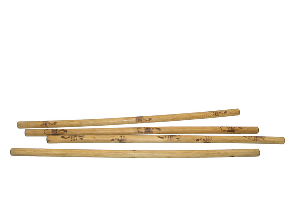 4 SECONDS Filipino Martial Arts Escrima Kali Arnis Burned Rattan Sticks 28