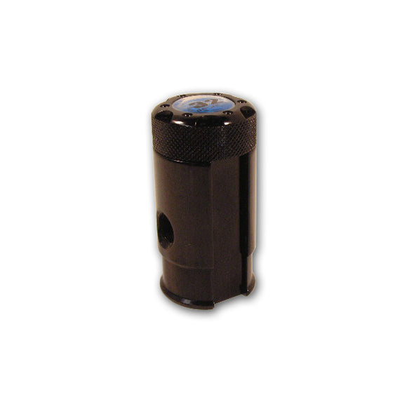 Black Bottomline Drop Forward CO2 HPA Gas On Off UFA Paintball Tank Fill Adapter