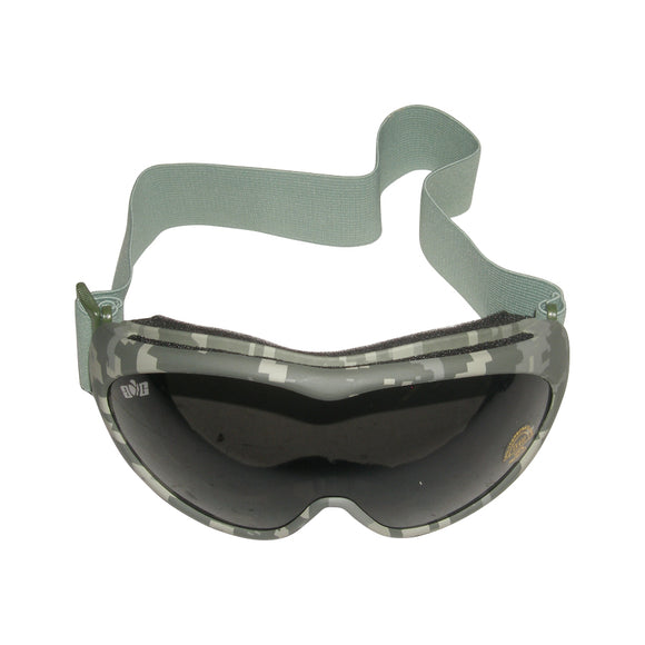 GXG Deluxe Airsoft Goggles Digital Camouflage Frames + Smoke Polycarbonate Lens