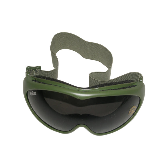 GXG Deluxe Airsoft Goggles OD Olive Green Frames + Smoke Polycarbonate Lens