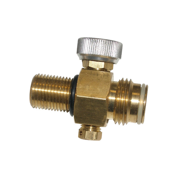 Twist On/Off Paintball CO2 Replacement Tank Valve only