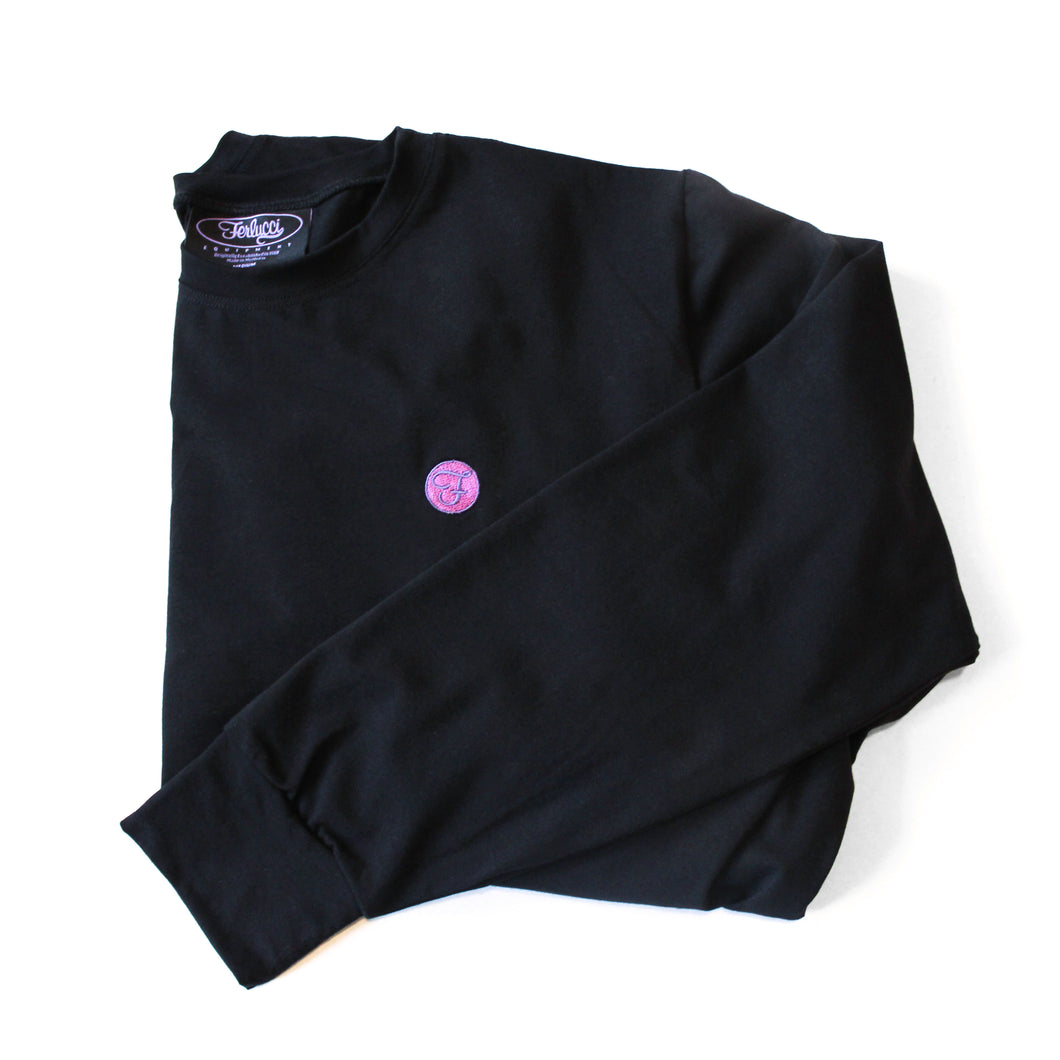 F-Crest Embroidered LS Tee
