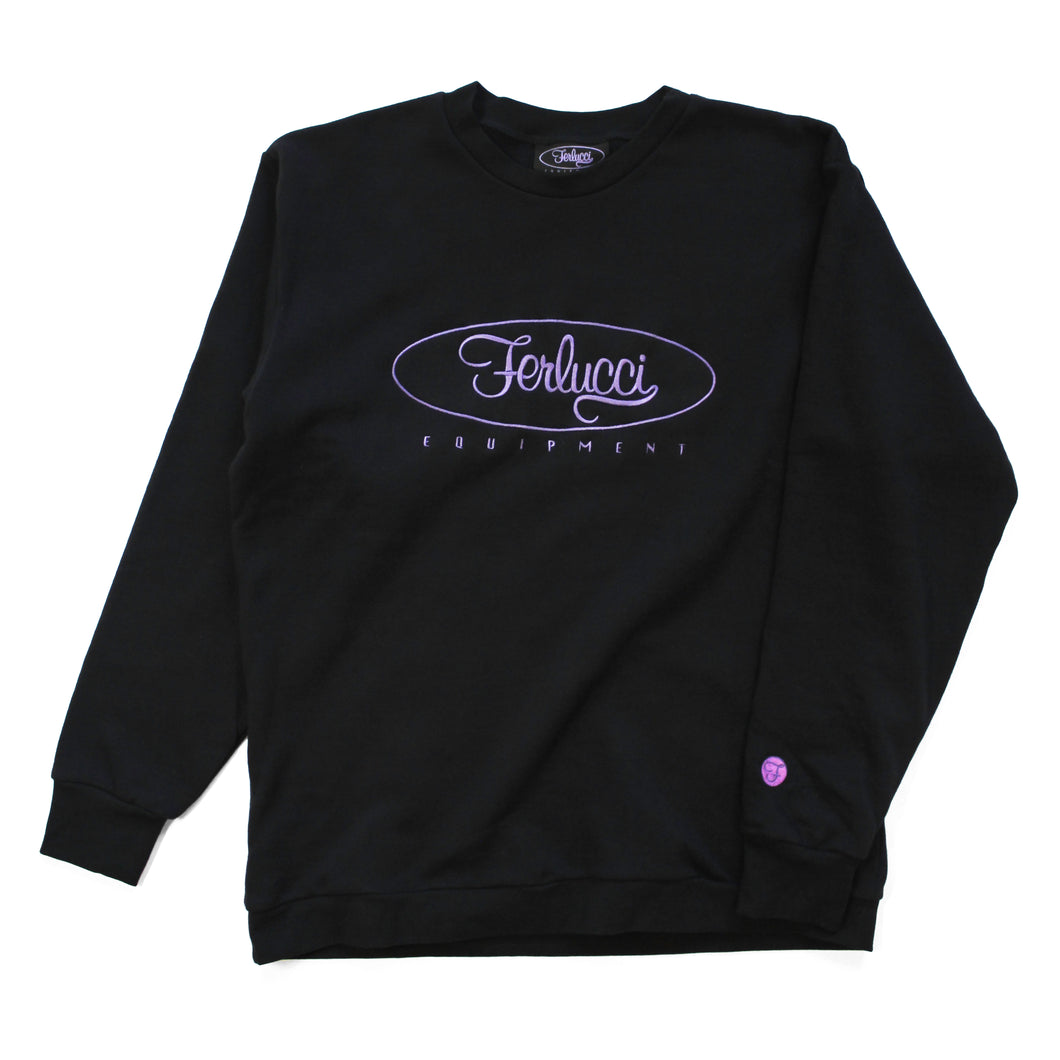 Ferlucci Classic Embroidered Crewneck