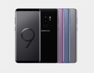 Samsung Galaxy S9+ 64GB DS G965F Factory Unlocked (Titanium Gray)- MyWorldPhone.com