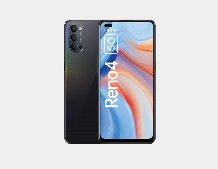 Oppo Reno 4 5G 128GB 8GB RAM GSM Unlocked- Space Black