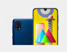 Load image into Gallery viewer, Samsung Galaxy M31 SM-M315F Dual SIM 4G LTE 128GB/6GB Ram GSM Unlocked - Blue