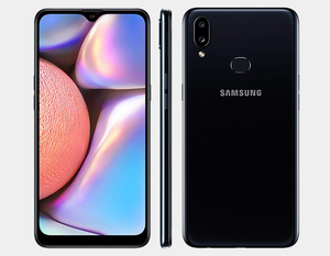 Samsung Galaxy A10s A107M/DS 32GB/2GB (32GB + 64GB SD Bundle) Factory Unlocked - Black- MyWorldPhone.com