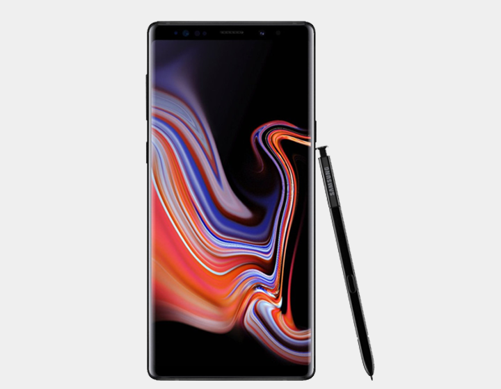 Samsung Note 9 N9600 Dual SIM 128GB/6GB GSM Factory Unlocked - Midnight Black
