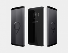 "Load image into Gallery viewer, Samsung Galaxy S9 (2018) G9600 SS 64GB/4GB 5.8"" GSM Factory Unlocked - Midnight Black- MyWorldPhone.com"