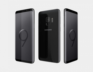 "Samsung Galaxy S9 (2018) G9600 DS 64GB/4GB 5.8"" GSM Factory Unlocked - Midnight Black- MyWorldPhone.com"